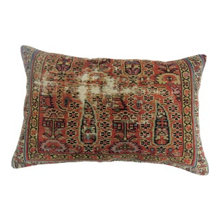 Distressed Persian Rug Pillow