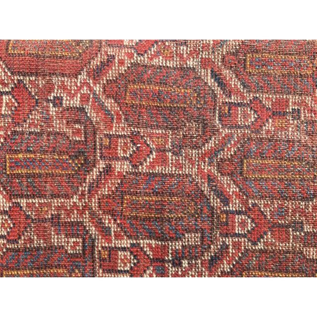 """Vintage Turkish Patchwork Rug - 5'5"""" X 8'10"""" - Image 9 of 11"""