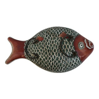 Chinese Colorful Fish Serving Dish