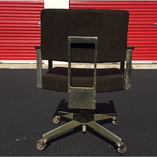 Mid-Century Desk Chair by Good Form Aluminum - Image 5 of 7