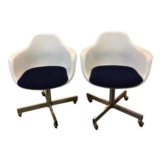 Vintage Mid-Century Krueger Chairs - A Pair