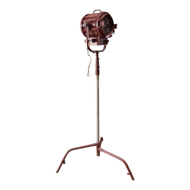 Mole Richardson Vintage Industrial Floor Lamp - Image 1 of 5