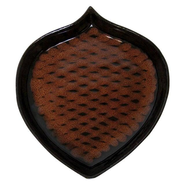Pine Cone-Shaped Ceramic Dish - Image 1 of 8