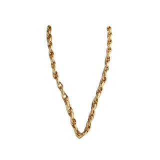 Monet 80s Gold Chain Necklace
