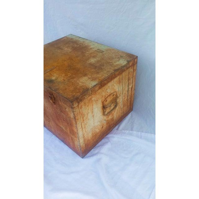 Image of Large Vintage Industrial Metal Box