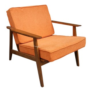 Mid-Century Modern Wood Arm Chair
