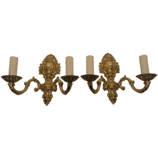 Solid Brass Luxury Sconces - Pair