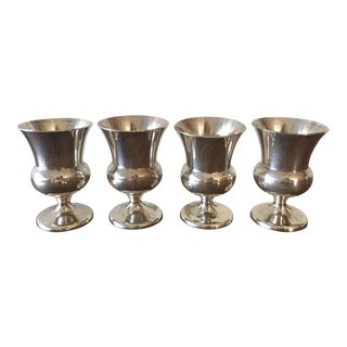 Sterling Silver Small Goblets - 4