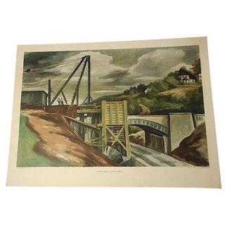 Vintage Donnelly Lithograph - 22ʺW × 16ʺH