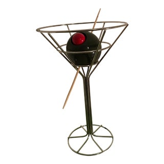 Vintage Dirty Martini Bar Table Lamp