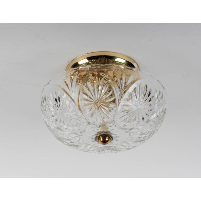 American Lantern Company Brass Ceiling Flush-Mount Light - Image 4 of 8