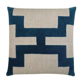"Piper Collection Blue Velvet ""Catie"" Pillow"