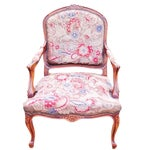 Image of Petit Point Needlepoint Tapestry Chair