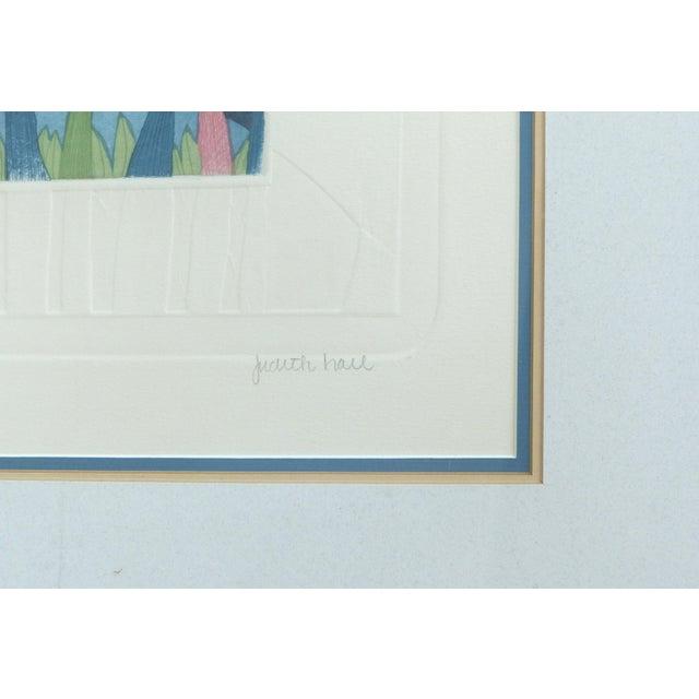 "Judith Hall ""The Rookery"" Intaglio Print - Image 9 of 10"