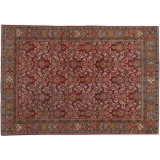 "Vintage Persian Mahal Rug- 7'1"" x 10'3"""