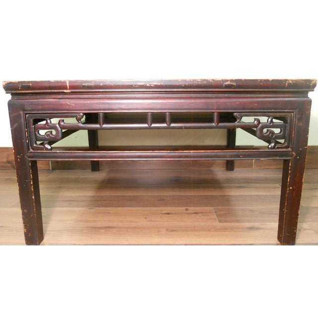 Antique Ming Coffee Table - Image 2 of 8