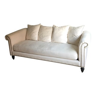 Z Gallerie Cream Sofa