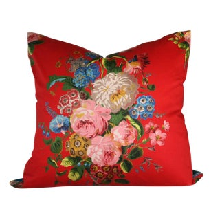 French Harmonie De Laurent Steve Fabric Pillow