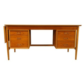 Expandable Drop Leaf Danish Modern Desk