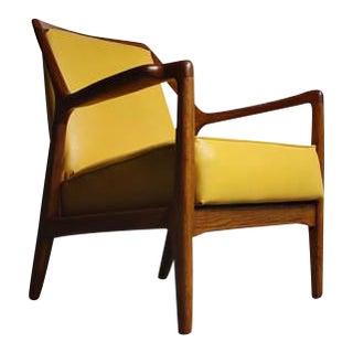 Modern Oak Lounge Chair