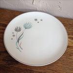 Image of Crooksville Mid Century Floral Atomic Plates - 2