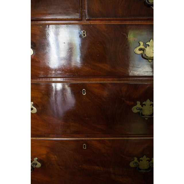 19th Century Georgian Mahogany Chest - Image 4 of 5