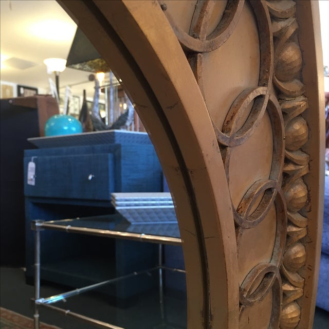 McLain Wiesand Custom Gold Concentric Mirror - Image 6 of 6