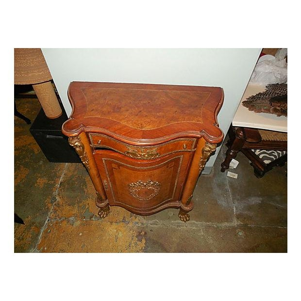 Antique Inlaid French Empire Revival Cabinet - Image 3 of 8