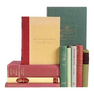 Midcentury Wine Appreciation Book Set, S/10