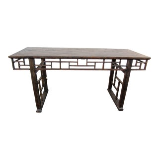 Rustic Asian Style Console