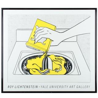 Framed Roy Lichtenstein Print