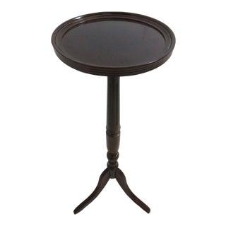 Bombay Company Mahogany Lamp Tall End Table