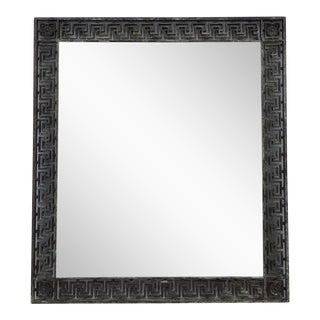 Antique Greek Key Iron Mirror