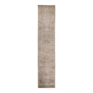 """Vibrance Hand Knotted Runner Rug - 2' 6"""" X 12' 3"""""""