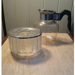 Image of Late 40's Art Deco Sylex Coffee by Candlelight Set