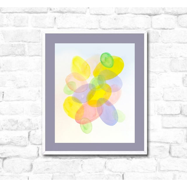 'SPRiNG Fever' 1/3 Original Watercolor Painting - Image 3 of 3