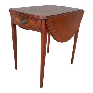 Henredon Vintage Federal Style Pembroke End Table