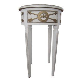Niermann Weeks White & Gold Table