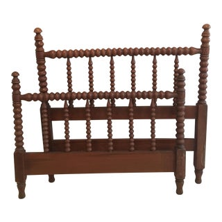 Twin Jenny Lind Style Spindle Bed
