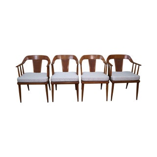 Tomlinson Mid-Century Dining Chairs - Set of 4