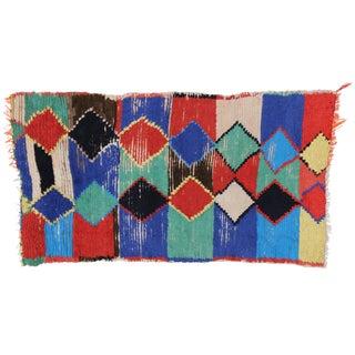 "Vintage Berber Moroccan Rug, 3'4"" X 5'11"""