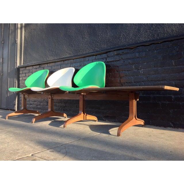 Kodawood Mid Century 3-Seater Bench - Image 3 of 7