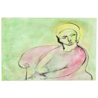 Portrait of a Woman by Jean Spielberg Margolin
