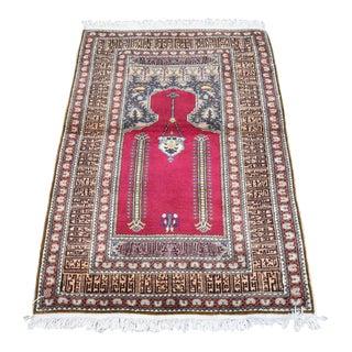 Vintage Turkish Oushak Handmade Rug