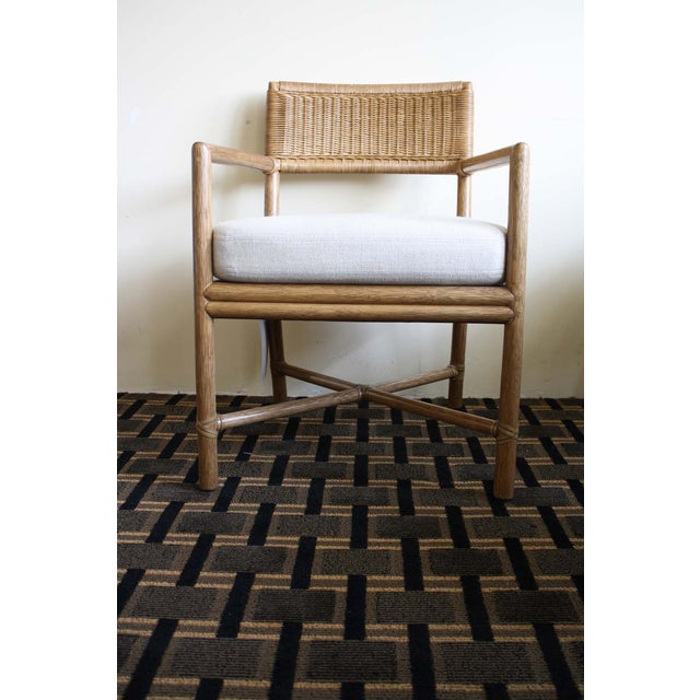 Image of McGuire Dawson Chair in Pecan Finish