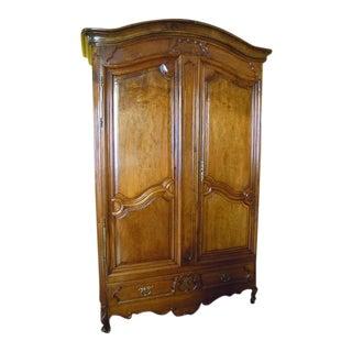 Louis XV Walnut Cabinet