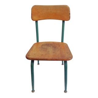 Mid-Century Children's School Chair