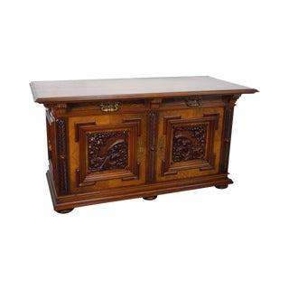 Renaissance Revival Carved Sideboard Cabinet