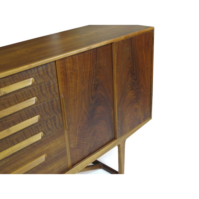 Image of Kurt Østervig of Brande Walnut Sideboard