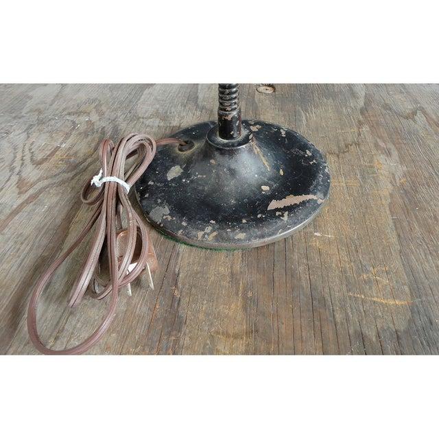 1940s Industrial Flip Up Shade Desk Lamp - Image 6 of 7